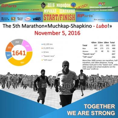 6 Marathon Muchkap Shapkino 2016